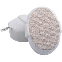 Best Dot Hemp Polyester Terry body scrubber for shower , Natural Pad For Skin Cleaning wholesale