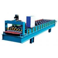 Best Electronic Control Metal Roof Roll Forming Machine With Hydraulic Metal Cutter wholesale