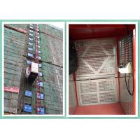 Best Single / Twin Cage Building Construction Site Hoist , Man And Material Elevator wholesale