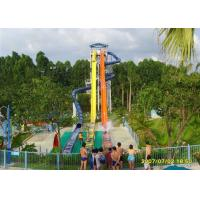Cheap Multicolor High Speed Water Slide , Fiberglass Big Water Slides For Adults for sale