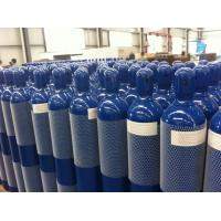 Best Steel Seal High Pressure 10L / 15L / 20L Compressed Gas Cylinder For High Purity Gas wholesale