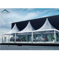 Best White Marquee Pagoda Shape  Exhibition Event Tents For Conference wholesale