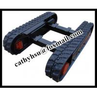 Best 2.5 ton rubber track undercarriage rubber crawler undercarriage wholesale