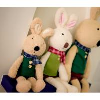 Long eared rabbits 30CM plush toys , Holiday stuffed Toys for kids / babies