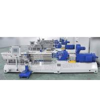 Best High Output Plastic Compounding Line Auto Conical Twin Screw Extruder wholesale