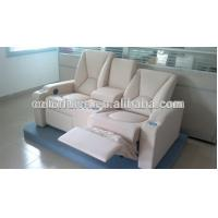 Best Cream leather lazy boy recliner chair /decoro leather sofa recliner With Writing Pad Function LS811B wholesale