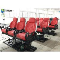 Best Realistic 6D Cinema Equipment With Excited Motion Chair And Cinema Special Effects wholesale