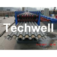 Best 50Hz, 3 Phase Silo Steel Corrugated Sheet Roll Forming Machine With 18 Stations wholesale