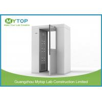 Best 304 SS Air Shower Clean Room Lab Equipment Passage For Pharmaceutical Factory wholesale
