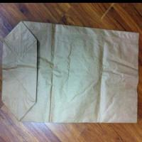 Best 3 Layers Kraft Paper Bag with PE Liner and Block Bottom (CB07K03A) wholesale