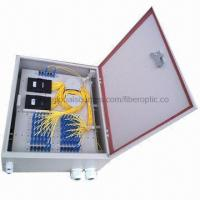 Buy cheap Splitter Distribution Box with Metal Shell from wholesalers