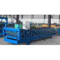 Best High Speed Standing Seam Bemo Roof Tile Making Machinery Hydraulic Cutting Type wholesale