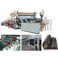 Best Solid Wall Water Gas Plastic Pipe Making Machine Extrusion Line , FCC wholesale