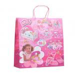 Best Twisted Handle Custom Printed Paper Bags Chrismas C2S Coated CMYK Reusable wholesale