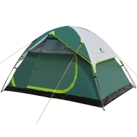Best Compact Freestanding PU1000mm 2 Person Touring Dome Tent wholesale