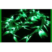 China 5m 40 Bulb Christmas LED String Lights Green For Festival Decoration on sale