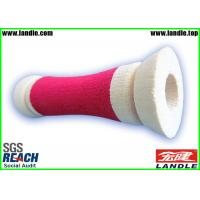 Best Sponge Bicycle  Promotional Sports Products , Red and White Foam Handle Grips wholesale