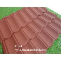 Best Stone Coated Steel Roof Tile Type and Al-Zn Alloy Coated metal Sheet Material Roof Tile wholesale