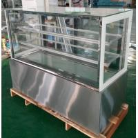 China Customized Floor Standing Or Table Top Cake Display Freezer 1800*670*1250mm on sale