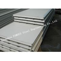 China 100mm Residential Fireproof Steel Sheet EPS Sandwich Panels Wall Cladding Systems on sale
