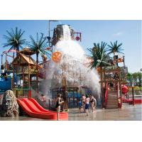 Best Outdoor Water Park Construction , Water House Aquatic Park Construction Structures wholesale