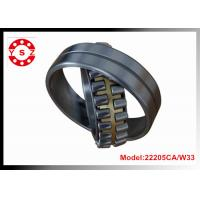 Best 22205CA/W33 Chrome Steel Spherical Roller Bearing Double Rows With One Piece Brass Cage wholesale
