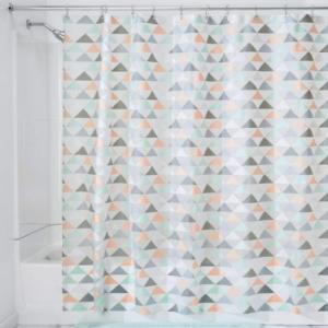 Best Luxury Fancy PEVA Plastic Bathroom Shower Curtain With Hooks wholesale
