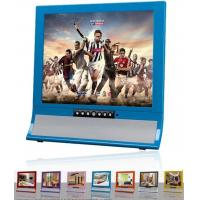"Best High Definition 15 "" Blue LCD AD Player With Infrared Remote Control wholesale"