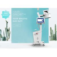 Best 650nm Diode Laser Hair Restoration Machine With 8 Inch Multi Color Touch Screen CE Approved wholesale