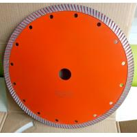 Best 230mm Continues Turbo Diamond Saw Blade , Hot Press Concrete Cutting Saw wholesale
