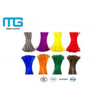 Best Wiring Accessories Self-Locking Nylon Cable Ties Manufacturer With CE, UL Certification wholesale