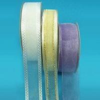Best Organza Sheer Ribbon, Various Sizes and Put-ups are Available wholesale
