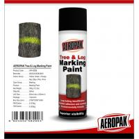 Cheap Fluorescent Orange Tree And Log Marking Paint Waterproof With Strong Adhesive for sale