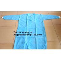 China General Purpose Disposable Coverall with Boots, Elastic Cuff,Disposable Non-woven Fabric Oversleeves Arm Sleeves Covers on sale