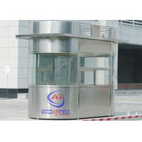 Best Custom Size Or Material Sentry Box Shed With Ticket Windows , Working Desk , Electricity , Light wholesale