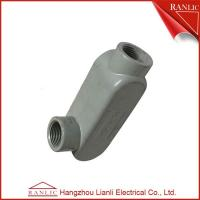 Cheap IMC EMT Conduit Body PVC Coated LR Conduit Bodies With Cover , UL approved for sale