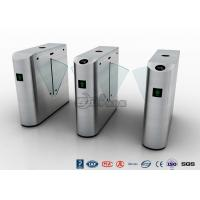 Best IP54 Anti - Breakthrough Flap Barrier Gate Speed Automatic With Barcode wholesale