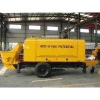 Best 6400kg Stationary Concrete Pump 174 Kw Power Open Loop Design Long Service Life wholesale