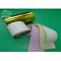 China 2 Part Roll Security Payslip Ncr Carbonless Paper 2ply 3py carbonless paper computer form on sale