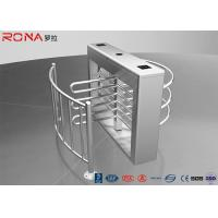 Best Pedestrian Swing Barrier Waist Height Turnstiles Entrance RIFD Access Control wholesale