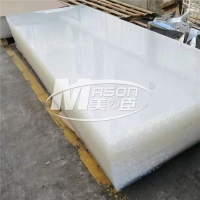 Best ScratchResistant Perspex 6mm 5H Hardened Cast Acrylic Sheet Clear With PE Film wholesale