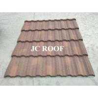 Best Aluminium - Zinc Material 0.4mm Thickness Colorful Stone Coated Metal Roofing Tiles wholesale
