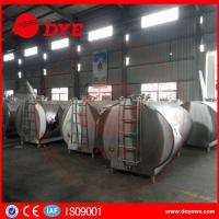 Best DYE Stainless Steel Milk Transportation Tank Direct Expansion Refrigeration wholesale