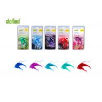 Best Double Dolphin  Plastic Air Freshener Four Scents Hanging In Carfor Rear - view Mirror wholesale