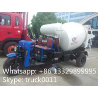 Best 1.5cbm 3 wheels mixer truck for sale wholesale