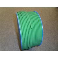 Best Green PU Polyurethane Round Belt anti static with 3mm - 8mm Textile wholesale
