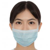 Best Single Use Earloop Face Mask 3 - Ply Protection Dust Proof CE Approved wholesale