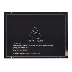 Best 220mm*275mm*3mm 24V 200W MK3 3D Printer Heatbed Aluminum Substrate wholesale