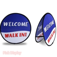 Best Digital Printing Bright Color horizontal Pop Up Banner Stand wholesale