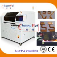 Quality 10W US Laser PCB Cutter Machine / Depaneling Machine With 460 * 460mm Working Area wholesale